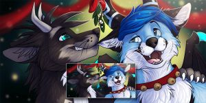 Wildwolf and Thernol Icons by Silvixen