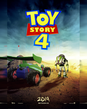 Toy Story 4 Poster by MessyPandas