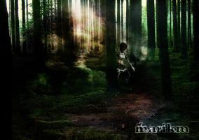 Forest with Metin2 Character by MariKM