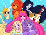 Ladies of Adventure Time by Sailor-Serenity