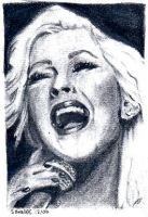 Christina Aguilera by Sagge88