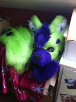 Hyena Partial WIP by Alinchen-Tenny