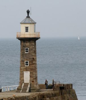 Whitby Harbour Tower by snowcrashed
