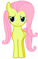 Another Fluttershy in The Wall by nerazim