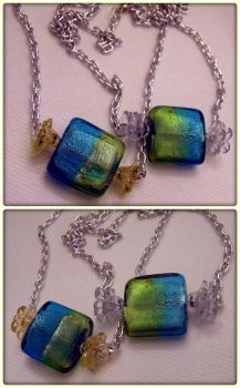 Bon Bon Wrapped Candy Necklaces by cyborgseamstress