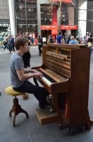 The Piano Man by MsDeGraeve
