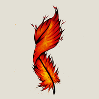 Phoenix Feather by electrikefeel