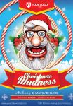 Christmas Madness Flyer by doghead