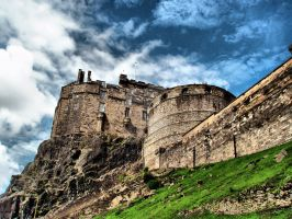 Edinburgh Castle II by Asimakis