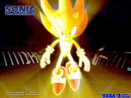 Heroic Radiance: Super Sonic by KAIJUfreak