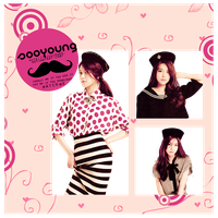 SooYoung ( girls generation) - png pack (render) by michiru92