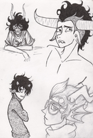 Homestuck Doodles by breckert