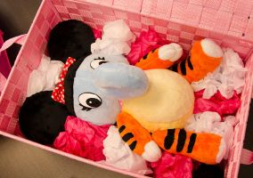 Minnie the Eliger Plush by Robo-Shark