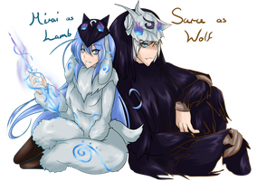 Halloween 2015 - Kindred of League of Legends by Sarukin