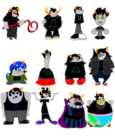 HSxHsR: Homestuck Runner by ZootyCutie