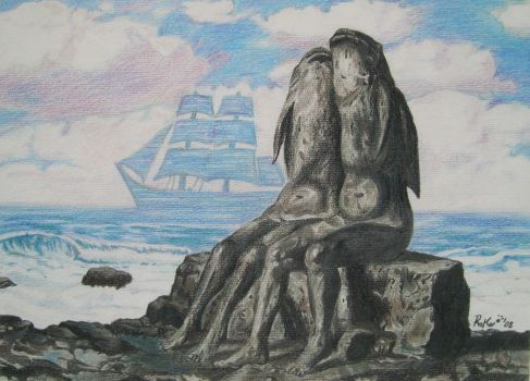 Chanson d'amour - R. Magritte - by Roke7