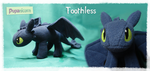 Toothless dragon by lemonkylie