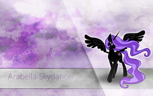 Arabella Skydancer Wallpaper by Barnacle84