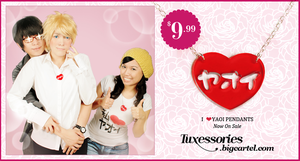I Heart Yaoi by Tuxessories
