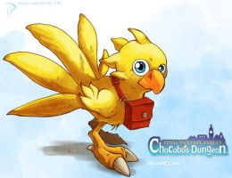 Chocobo's Dungeon Rocks by Hyptosis