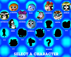 Character Select by CrossoverGamer