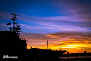 USS Midway by Milton-Andrews