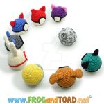 PokeBalls and a DeathStar. by FROG-and-TOAD