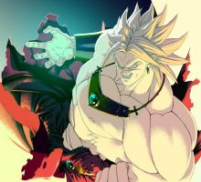 Broly Legendary Super Saiyan by ChimeraHatake