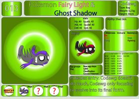 Pokemon Fairy Light and Ghost Shadow ''013'' by AndkeAnka