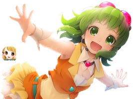 Gumi render by Shiriri-nyan
