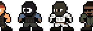 Terrorist Forces Mega Man Style (8-bit CSS) by MelolzuGaming