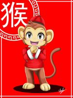Year of the Monkey 2016 by Winick-Lim