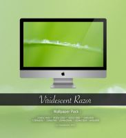 Viridescent Razor - Wallpaper Pack- by CayaStrife