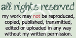 'All Rights Reserved' Copyright Stamp + Plz Acct. by musumedesu