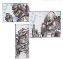 Robotnik 3-Panel sketch by LucrataNexarii
