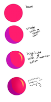 How To Color Like Ditty by DistyKisaragi