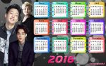 Wall Calendar Boys 2016 by RainboWxMikA