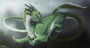 Storm Dragon by RachelleFryatt