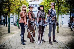 BBC Musketeers by LauraTolton