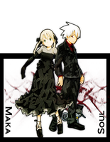 Soul eater and Maka by MikeTheLGND