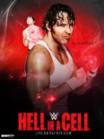 WWE Hell in a cell 2014 poster by ShivamMathers