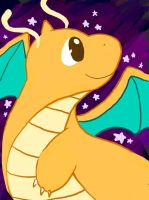 Dragonite by SilkenCat