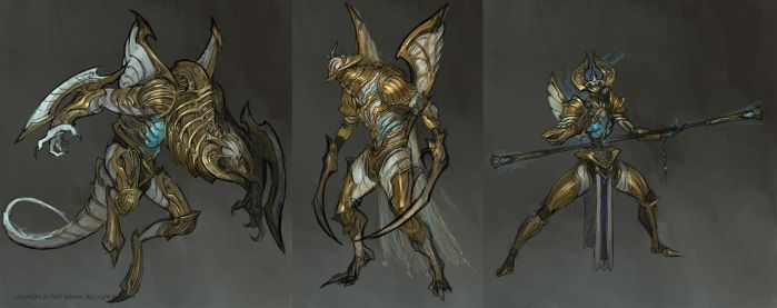 1603 Labyrinth Monster Concept by alswns3421