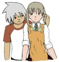 SE: Maka and Soul by Seblocry