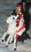 Beaded Catra and Storm by Anabiyeni