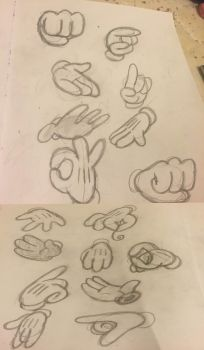 Hands References by NathanTheMoldy
