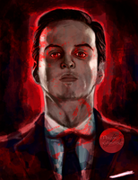 Jim Moriarty by Mariana-S