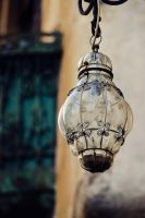Vintage street lamp by diapozitive