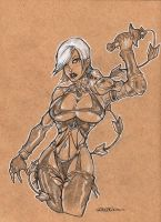 IVY commission by dragonfish74