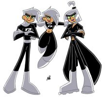 25,000 Hits - Danny Phantom by TuxedAaron